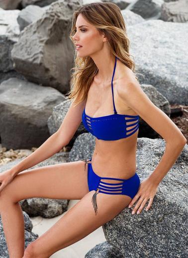 Ayyıldız Bikini Mavi